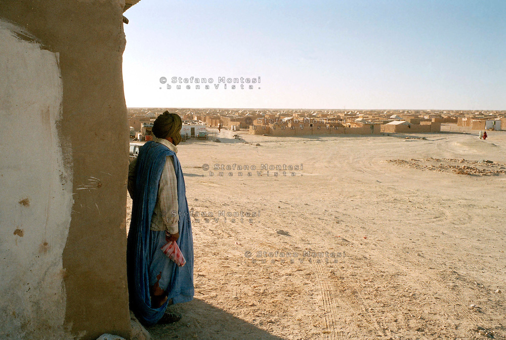 Febbraio 2012.<br /> The Saharawi refugee camp Smara.