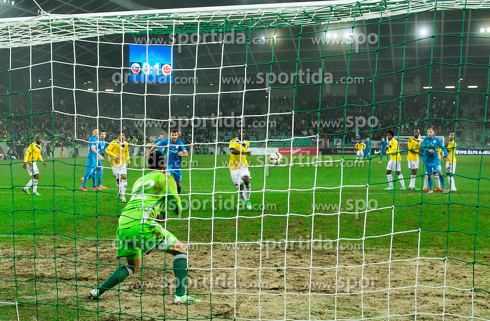 Camilo Vargas of Colombia during friendly football match between National teams of Slovenia and Colombia, on November 18, 2014 in SRC Stozice, Ljubljana, Slovenia. Photo by Vid Ponikvar / Sportida