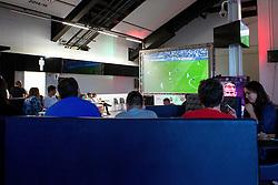 Fans watch England vs Slovakia on the big screen in The Fanzone at Ashton Gate - Mandatory by-line: Robbie Stephenson/JMP - 20/06/2016 - FOOTBALL - Ashton Gate - Bristol, United Kingdom  - England vs Slovakia - UEFA Euro 2016
