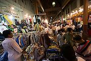 Bur Dubai Souq. Cheep shirts.
