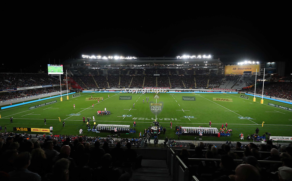 2017 British &amp; Irish Lions Tour To New Zealand, Eden Park, Auckland, New Zealand 7/6/2017<br /> Blues vs British &amp; Irish Lions<br /> A view of the match <br /> Mandatory Credit &copy;INPHO/Billy Stickland / www.photosport.nz