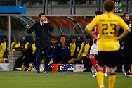 16-04-2016 VOETBAL:RODA JC - PSV:KERKRADE<br /> Roda JC trainer Darije Kalezic<br /> Foto: Geert van Erven