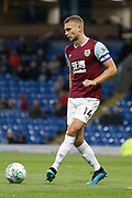 Ben Gibson of Burnley during the EFL Cup match between Burnley and Sunderland at Turf Moor, Burnley, England on 28 August 2019.