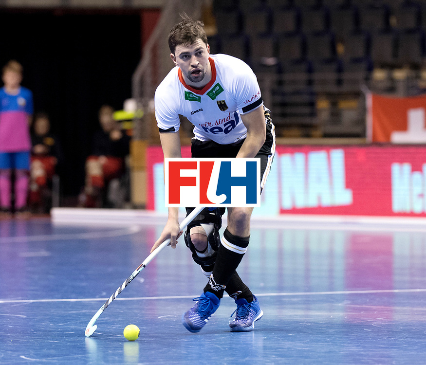 BERLIN - Indoor Hockey World Cup<br /> Men: Germany -  Trinidad &amp; Tobago<br /> foto: Tobias Hauke.<br /> WORLDSPORTPICS COPYRIGHT FRANK UIJLENBROEK