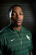 DALLAS, TX - JULY 21:  Baylor wide receiver Antwan Goodley poses for a portrait during the Big 12 Media Day on July 21, 2014 at the Omni Hotel in Dallas, Texas.  (Photo by Cooper Neill/Getty Images) *** Local Caption *** Antwan Goodley