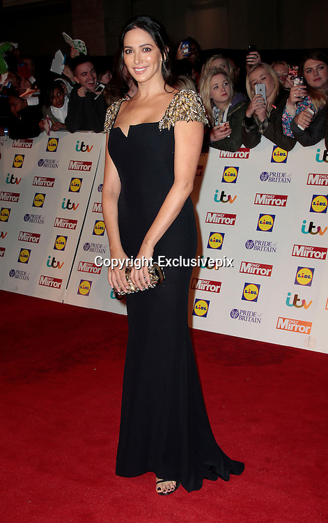 Pride of Britain Awards 2014 Red Carpet Arrivals at The Grosvenor House Hotel, London<br /> <br /> Photo Shows: Lauren Silverman<br /> ©Exclusivepix