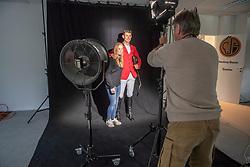 Henk van Cauwenbergh, Jos Verlooy, Axelle Koninckx<br /> Foto shoot met Henk van Cauwenbergh voor KBRSF - Zaventem 2018<br /> © Hippo Foto - Dirk Caremans<br /> 01/05/2018