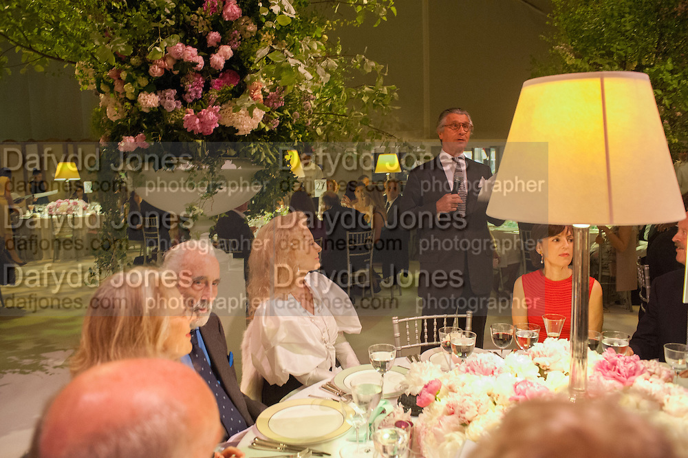 PRINCESS MICHAEL OF KENT; ARNAUD BAMBERGER- , CARTIER CHELSEA FLOWER SHOW DINNER Dinner hosted by Cartier in celebration of the Chelsea Flower Show was held at Battersea Power Station. 22 May 2012