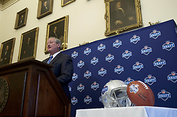 September 1, 2016 - Philadelphia, PA, U.S - Philadelphia Mayor JIM KENNEY at the September 1, 2016 announcement of the selection of Philadelphia to host the 2017 NFL Draft, during a press conference at City Hall, Philadelphia, Pennsylvania. (Credit Image: © Bastiaan Slabbers via ZUMA Wire)