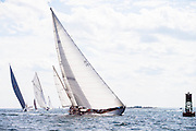 Black Watch sailing in the Marblehead Corinthian Classic Yacht Regatta.