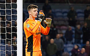 Burnley's Nick Pope during the EFL Cup match between Burnley and Leeds United at Turf Moor, Burnley, England on 19 September 2017. Photo by Paul Thompson.