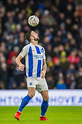 Shane Duffy (Brighton) during the FA Cup fourth round match between Brighton and Hove Albion and West Bromwich Albion at the American Express Community Stadium, Brighton and Hove, England on 26 January 2019.