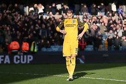 Glenn Murray of Brighton and Hove Albion after missing his penalty - Mandatory by-line: Arron Gent/JMP - 17/03/2019 - FOOTBALL - The Den - London, England - Millwall v Brighton and Hove Albion - Emirates FA Cup Quarter Final