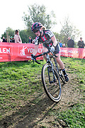 Belgium, November 1 2017:  Elodie Kuijper, Cycling.be - Alphamotorhomes CT, was 26th in the elite women's race at the 2017 edition of the Koppenbergcross. Copyright 2017 Peter Horrell.