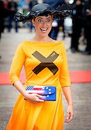 DEN HAAG - Marianne Thieme arriveert bij de Ridderzaal tijdens Prinsjesdag.