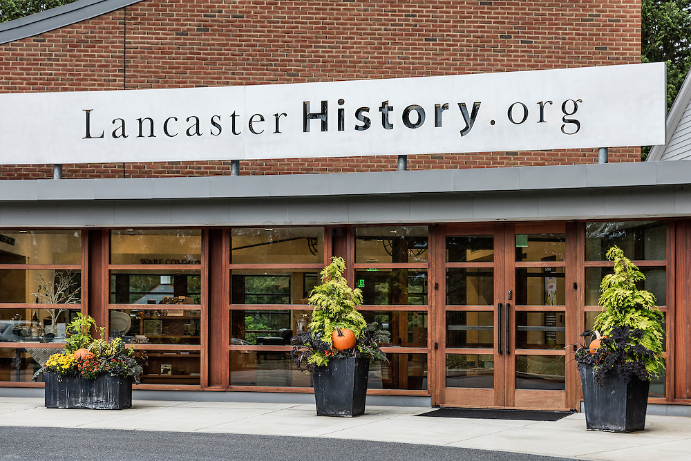 The headquarters of LancasterHistory.org including the Museum Store, Library and Research Resources, and Exhibit Galleries, Lancaster, Pennsylvania, USA