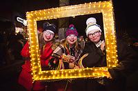 Downtown Traverse City's first Christmas Light Parade Dec. 1, 2017.