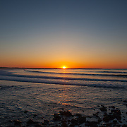 Today's  sunrise  at Narragansett Town Beach, Narragansett, RI,  May  13, 2013.