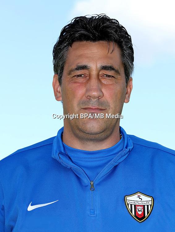 Italian League Serie B -2016-2017 / <br /> ( Ascoli Picchio F.C. 1898 ) - <br /> Alfredo Aglietti - DT Ascoli Picchio F.C.1898