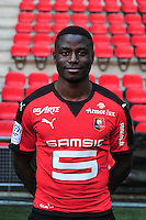 Paul Georges Ntep - 15.09.2015 - Photo officielle Rennes - Ligue 1 2015/2016<br /> Photo : Philippe Le Brech / Icon Sport
