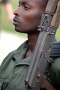 Kinshasa/Kamina November 30, 2005 - An unidentified Congolese army