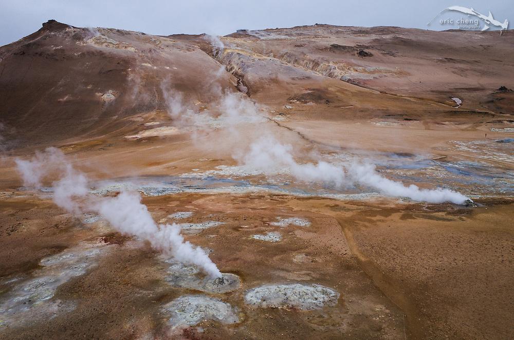Hverarondor Hverir geothermal area at Namafjall, Iceland