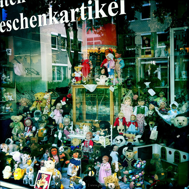 Doll shop in Königswinter, Germany