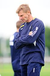 Bristol Rovers' U18s Head of Youth Coaching, Alan Walsh  - Photo mandatory by-line: Dougie Allward/JMP - Tel: Mobile: 07966 386802 17/08/2013 - SPORT - FOOTBALL - Bristol Rovers Training Ground - Friends Life Sports Ground - Bristol - Academy - Under 18s - Youth - Bristol Rovers U18s V Bournemouth U18s