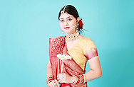Портрет на индийка