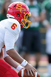 19 September 2015:  Sammy Sasso during an NCAA division 3 football game between the Simpson College Storm and the Illinois Wesleyan Titans in Tucci Stadium on Wilder Field, Bloomington IL