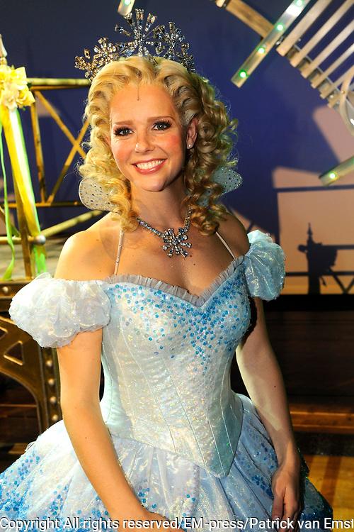 Premiere musical Wicked in het Circus Theater, Scheveningen.<br /> <br /> Op de foto:   Chantal Janzen