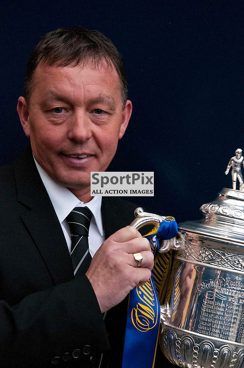 Former Motherwell, Derby County, Preston North End and Nottingham Forest manager Billy Davies conducted the William Hill Scottish Cup quarter-final draw along with Campbell Ogilvie, SFA President, and Robin Chhabra, Head of Strategy and Corporate Development at William Hill.