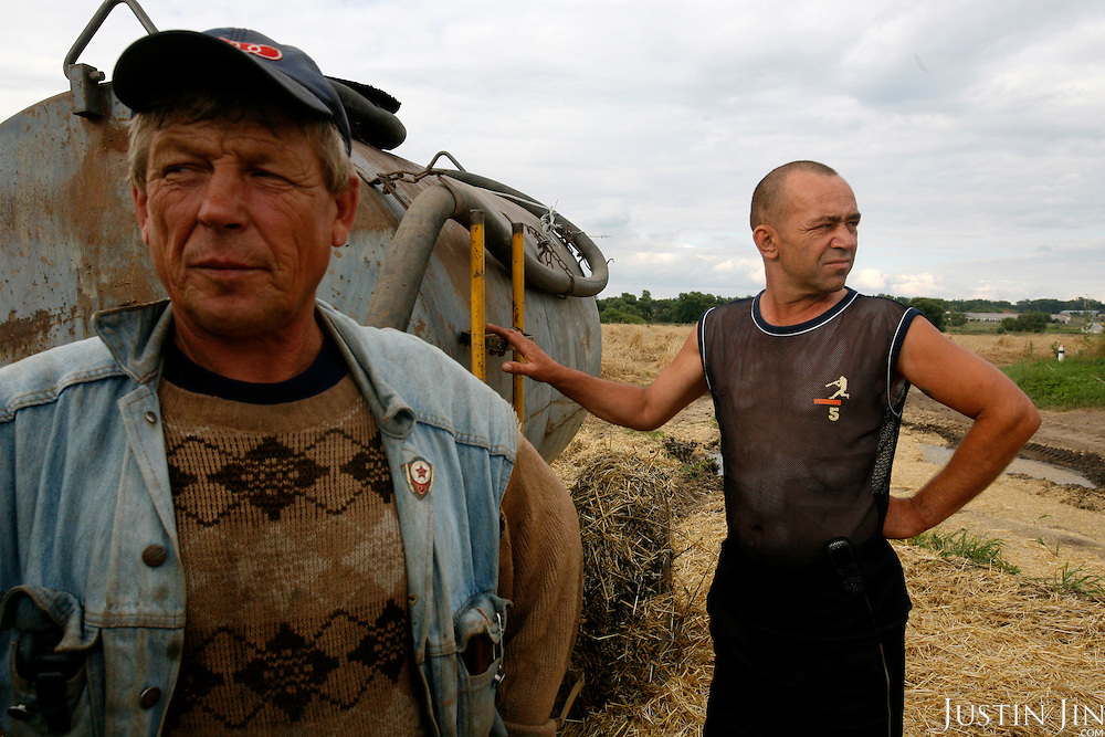 Workers at the Yamnoye Farm outside Voronezh.