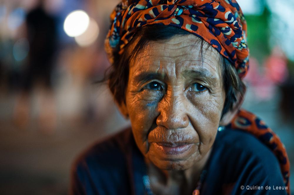 Portrait of a woman in Jakarta Kota