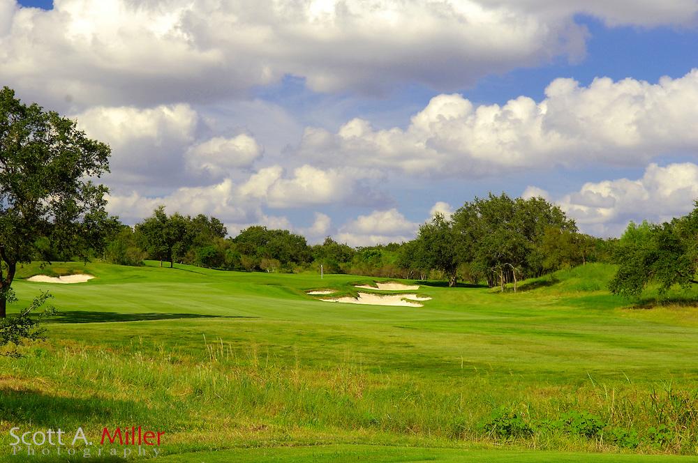 September 7, 2007, San Antonio, Texas; Hole No. 4 at the Briggs Ranch Golf CLub...                ©2007 Scott A. Miller