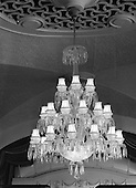 1957 - Waterford Glass chandelier at the Gresham Hotel