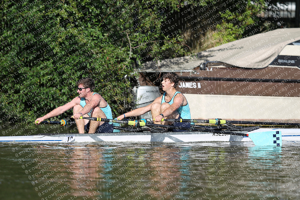 29.09.2012. Wallingford Long Distance Sculls 2012, The River Thames. Division 1.