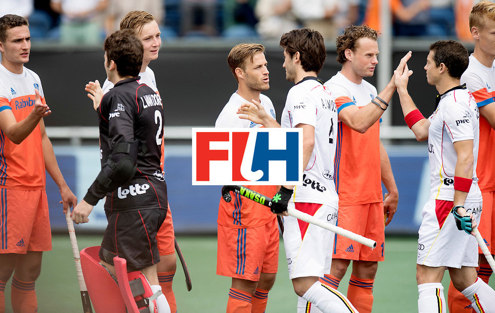 BREDA - Rabobank Hockey Champions Trophy<br /> The Netherlands - Belgium<br /> Photo: <br /> COPYRIGHT WORLDSPORTPICS FRANK UIJLENBROEK