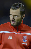 Stoke City's Erik Pieters during the Capital One Cup, third round match at Craven Cottage, London.