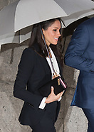 Prince Harry and Meghan Markle at the Endeavour Fund Awards ceremony 1 Feb 2018