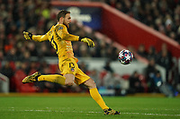 Football - 2019 / 2020 UEFA Champions League - Round of Sixteen, Second Leg: Liverpool (0) vs. Atletico Madrid (1)<br /> <br /> Atletico Madrid goalkeeper Jan Oblak in action during todays match  , at Anfield.<br /> <br /> <br /> COLORSPORT/TERRY DONNELLY