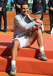 April 22, 2018 - Monaco - Tennis - Monaco - Raffael Nadal Espagne (Credit Image: © Panoramic via ZUMA Press)