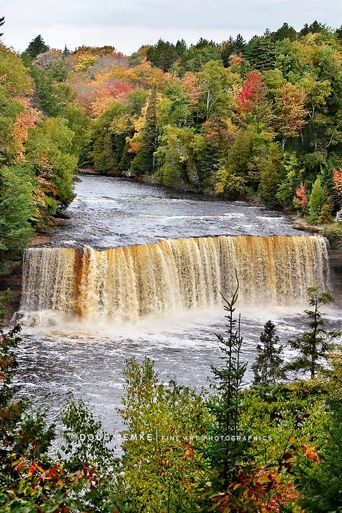 Tahquamenon Falls In The Autumn, Michigan, Upper Peninsula, USA