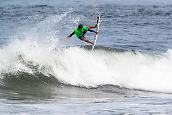 Miguel Pupo of Brazil advances to round 4 after placing second in round 3 heat 6 ​of the 2018 Hawaiian Pro at Haleiwa, Oahu, Hawaii, USA.