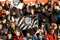 27.11.2011, UPC Arena, Graz, AUT, 1. FBL, SK Puntigamer Sturm Graz vs FC Trenkwalder Admira, im Bild Sturm-Fans, EXPA Pictures © 2011, PhotoCredit: EXPA/ Erwin Scheriau