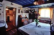 Traditional architecture in Jastarnia town, Kaszubska Hut Museum, Poland, photo: Piotr Gesicki..Chata Kaszubska - muzeum w Jastarni, fot: Piotr Gesicki. Hel pennisula on Baltic sea in Poland photo by Piotr Gesicki Kaszubska hut museum in Jastarnia town ,