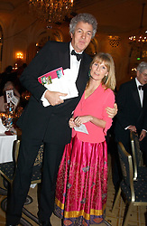 MR & MRS HENRY WYNDHAM he is chairman of SothebyÍs Europ at a dinner in aid of the BAAF (British Association for Adoption & Fostering) held at The Savoy, London on 22nd March 2005.<br />