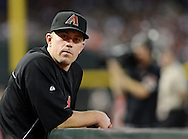 PHOENIX, AZ - JUNE 08:  Infielder Aaron Hill #2 of the Arizona Diamondbacks sits in the dugout in the game against the San Francisco Giants at Chase Field on June 8, 2013 in Phoenix, Arizona.  (Photo by Jennifer Stewart/Getty Images) *** Local Caption *** Aaron Hill