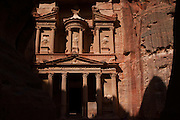 The Nabatean tombs of Petra, Jordan, were taken over by the Romans as they lay on the old frankincense trade routes. The Treasury