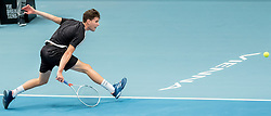 23.10.2016, Stadthalle, Wien, AUT, ATP Tour, Erste Bank Open, Tie Break Tens, Finale, im Bild Dominc Thiem (AUT) // Dominc Thiem of Austria during the final match of the Tie Break Tens of Erste Bank Open of ATP Tour at the Stadthalle in Vienna, Austria on 2016/10/23. EXPA Pictures © 2016, PhotoCredit: EXPA/ Sebastian Pucher